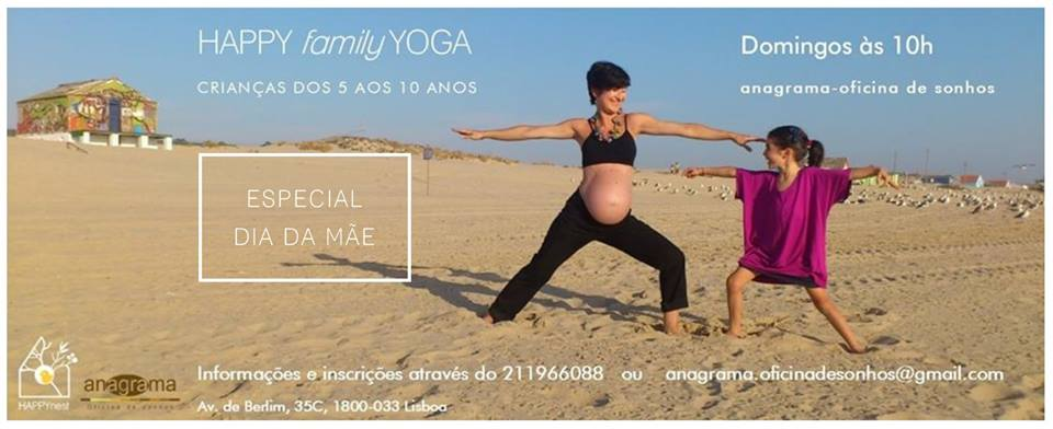 Happy Family Yoga – Especial dia da Mãe