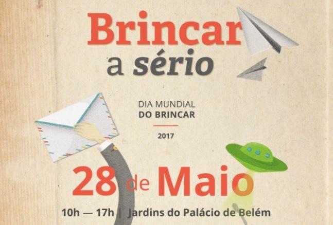 Dia Mundial do Brincar no Jardins do Palácio de Belém