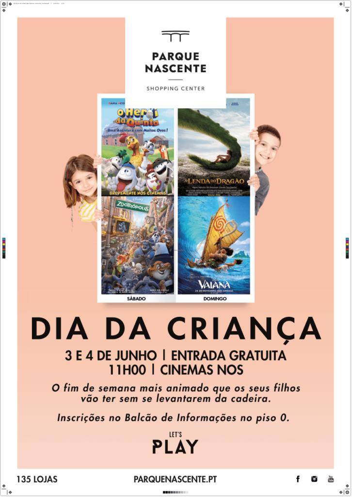 PARQUE NASCENTE CELEBRA O DIA DA CRIANÇA COM SESSÕES DE CINEMA GRATUITAS