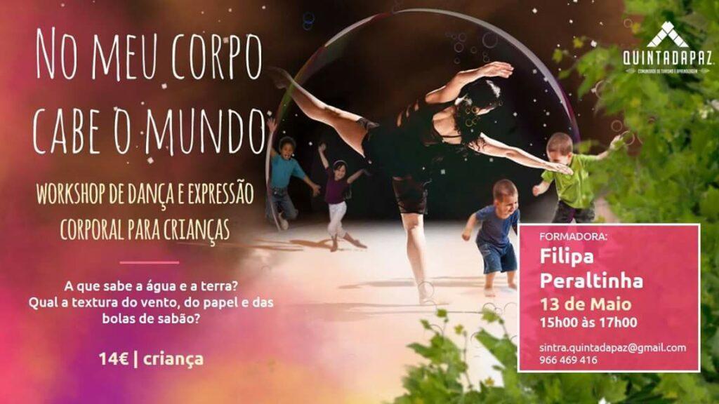 Workshop de dança: NO MEU CORPO CABE O MUNDO