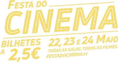 Festa do Cinema com bilhetes a 2,50€ em todas as salas do cinema do País!