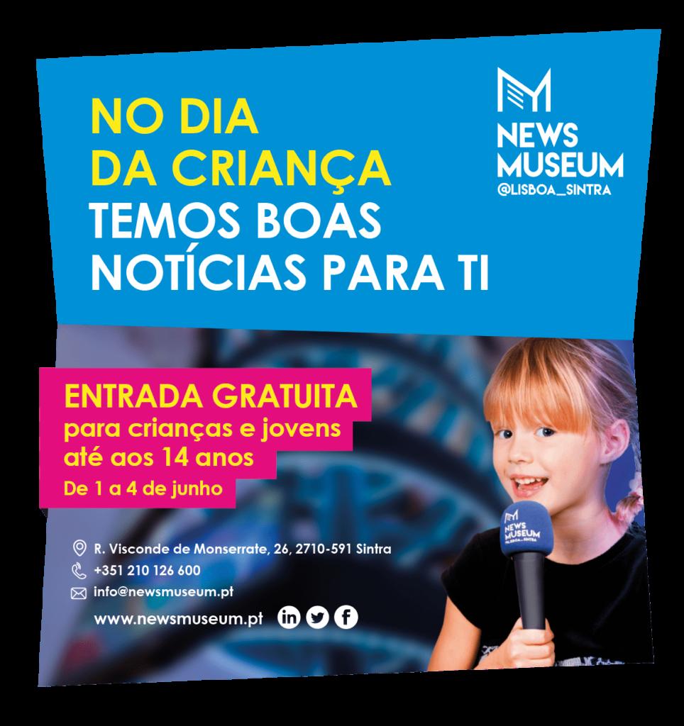 Dia da Criança – NewsMuseum com entrada gratuita para crianças e jovens