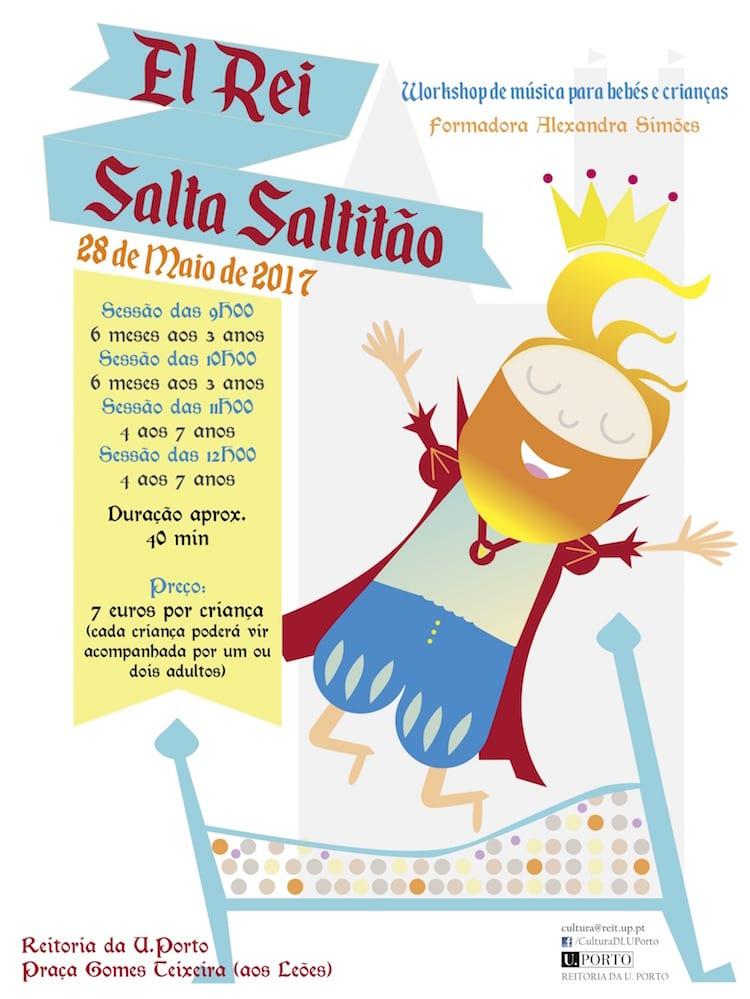 El Rei Salta Saltitão | Workshop de música para bebés e crianças