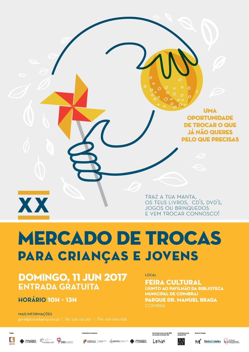 XX Mercado de Trocas para Crianças e Jovens