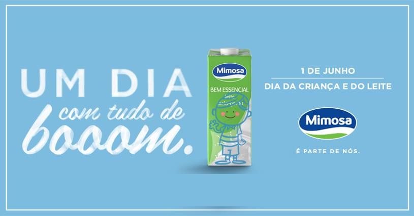 Mimosa Dia do Leite e da Criança