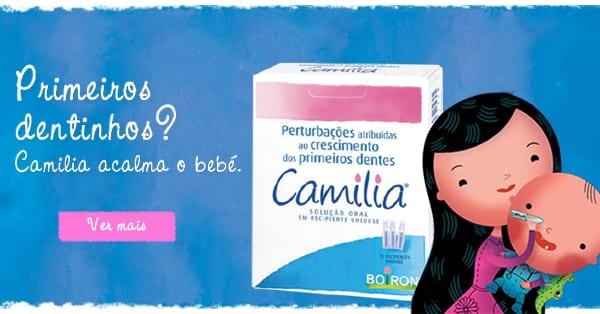Primeiros dentes do bebé - Camilia