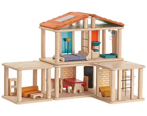 casa de bonecas plantoys