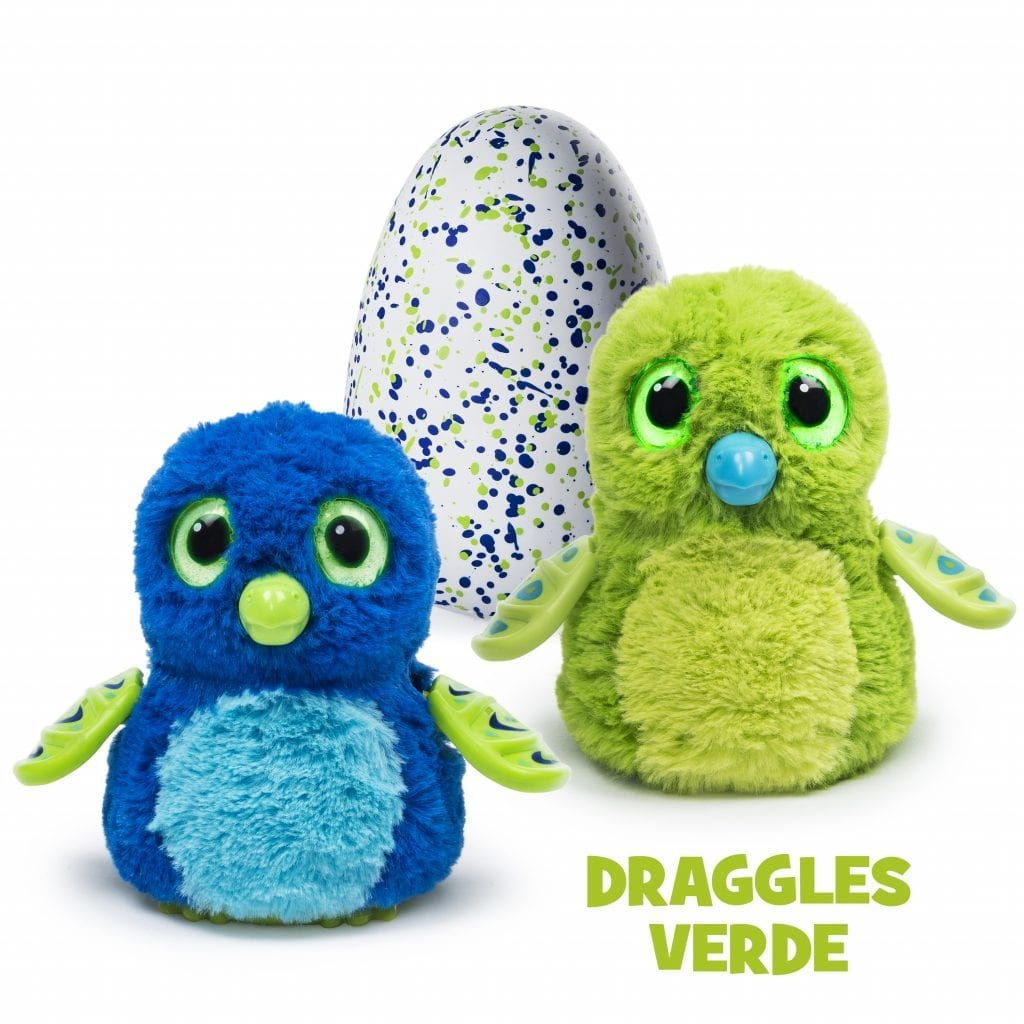 Hatchimals - Dragles verde