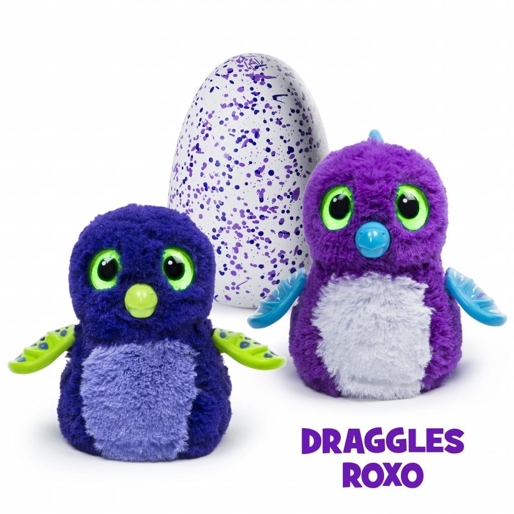 Hatchimals - Dragles roxo