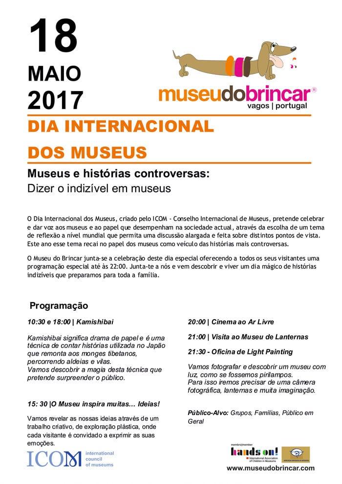 Museu do Brincar: DIA INTERNACIONAL DOS MUSEUS