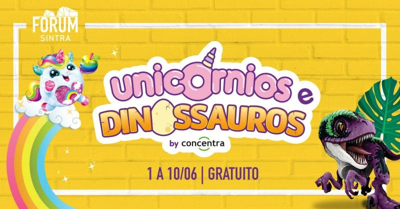 Dia da Criança no Forum Sintra: 10 dias cheios de atividades e surpresas