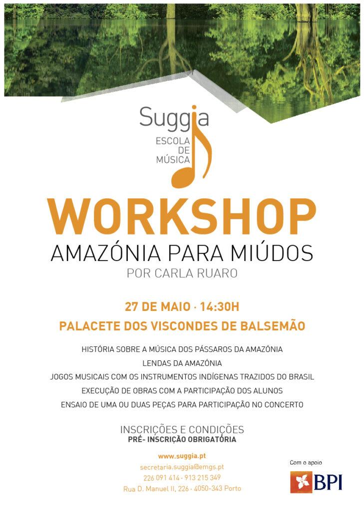 Workshop Amazónia para Miúdos