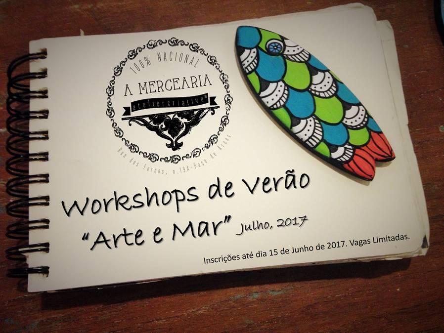 Workshops de Verão n'A Mercearia – Atelier Criativo