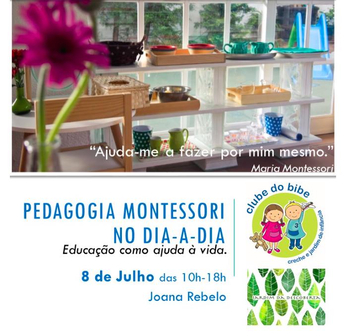 Pedagogia Montessori no dia-a-dia