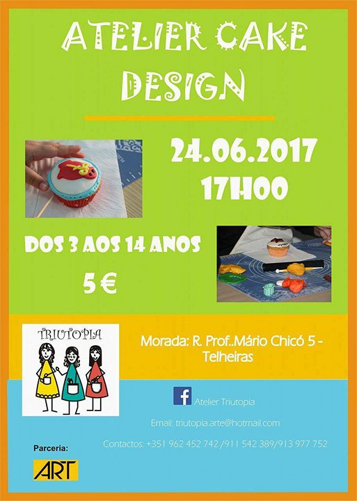 Atelier Cake Design Lausanne : Atelier Cake Design na Triutopia - Pumpkin.pt