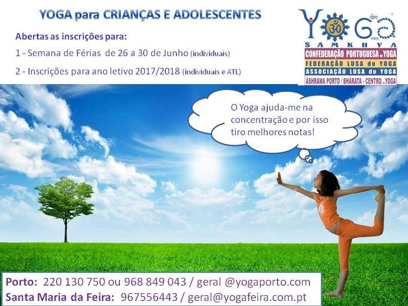 Yoga para Crianças e Adolescentes