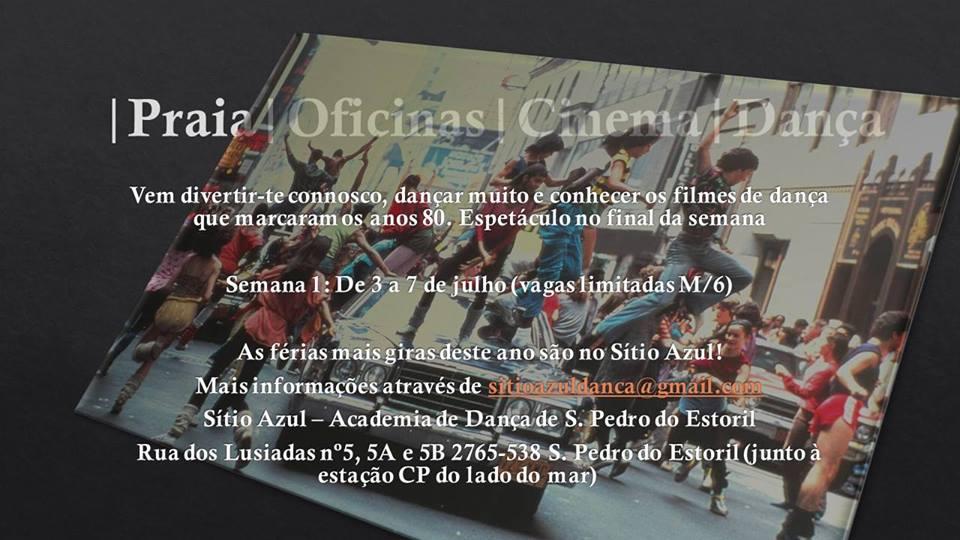 ATL de Verão Sítio Azul – Academia de Dança de S. Pedro do Estoril