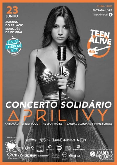 Teen Alive Aid Cartaz