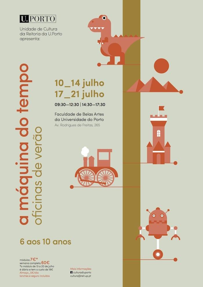 A Máquina do Tempo | Oficinas de Verão da Reitoria da U.Porto