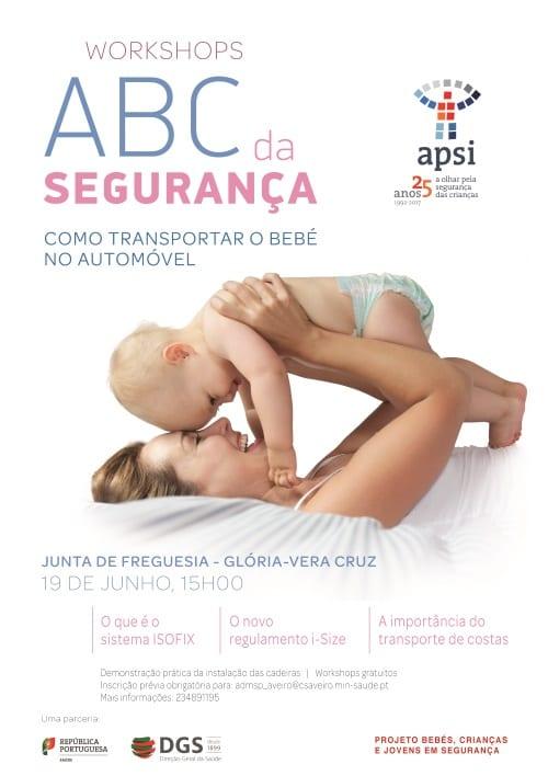 Workshop ABC da Segurança – Como transportar o bebé no automóvel