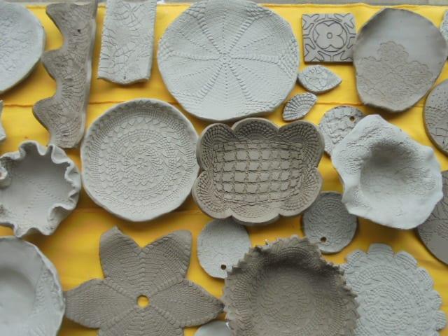 cerâmica & renda