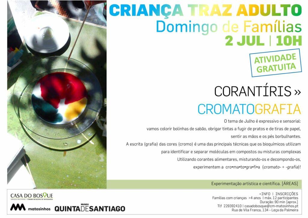 CORANTÍRIS _ CROMATOGRAFIA