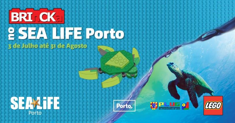LEGO chega ao SEA LIFE Porto