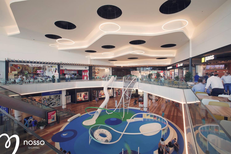 """Nosso Shopping inaugura """"A Praça"""" e o mais inovador playground de Portugal"""