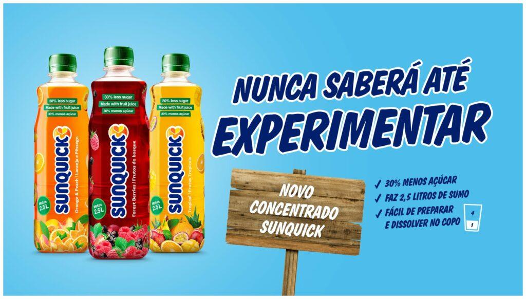 sunquick 30 açúcar