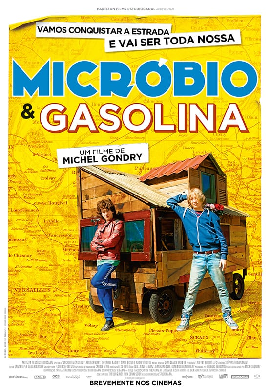"""""""Micróbio e Gasolina"""" – Um filme para toda a família!"""