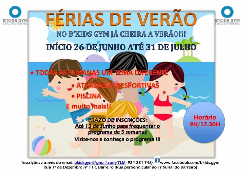 Verão B'kids gym