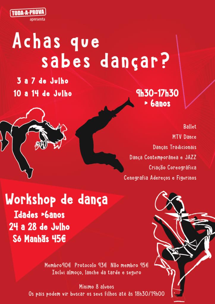 Achas que sabes dançar?