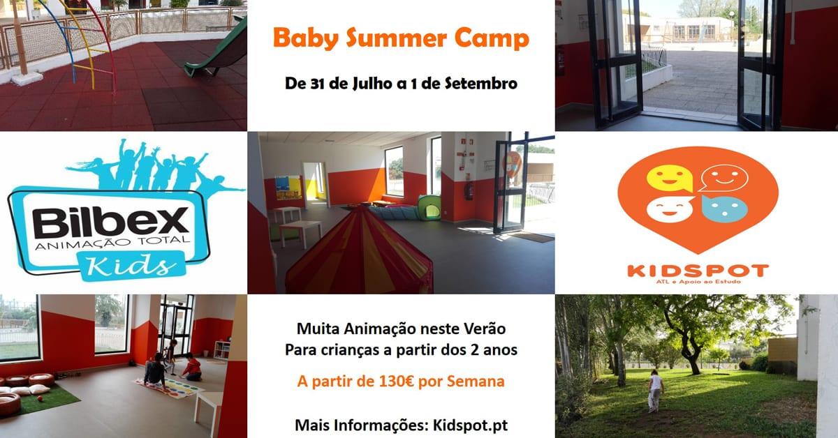 Baby Summer Camp: Atividades nas férias para crianças até aos 5 anos