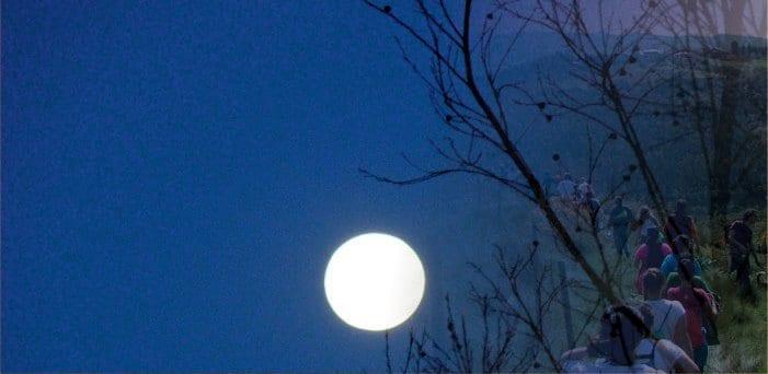 """Caminhada noturna """"Descobrir as Linhas ao Luar"""" regressa numa edição solidária"""