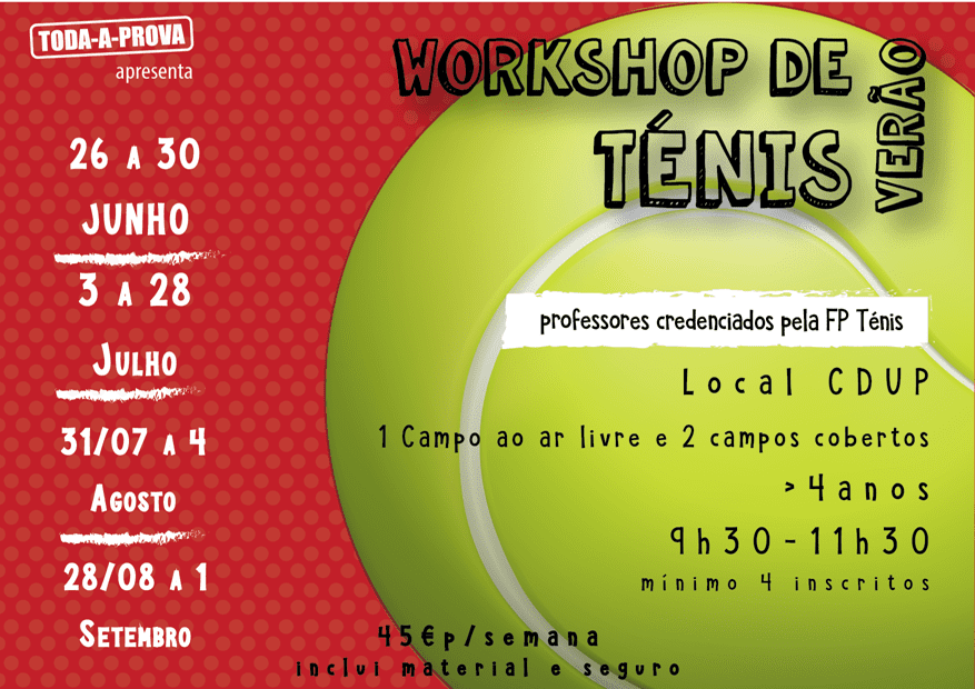 Workshop de Ténis