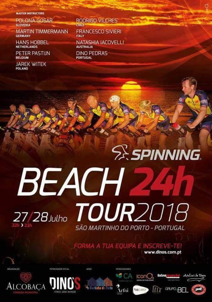Beach 24H Spinning Tour Portugal