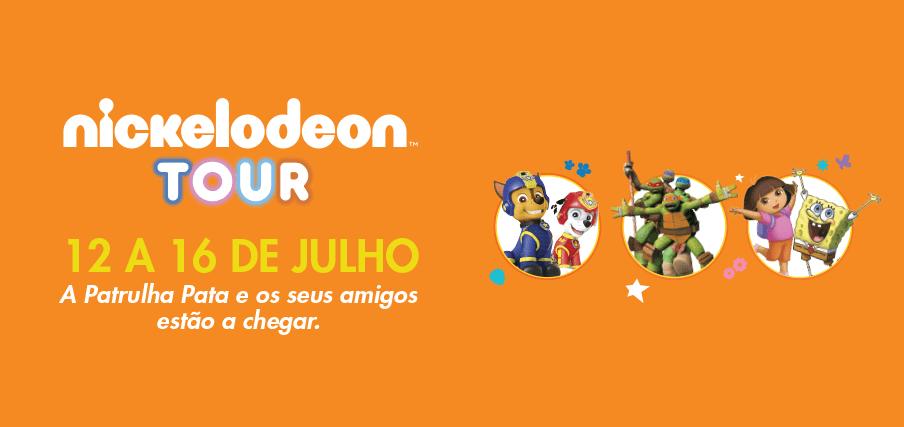 Espaco Guimaraes Tour Nickelodeon