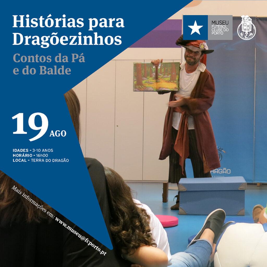 Histórias para Dragõezinhos | Agosto