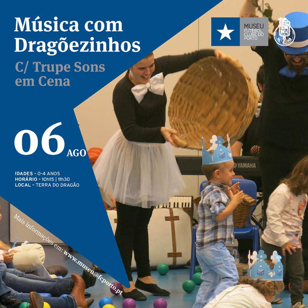 Música com Dragõezinhos – Agosto