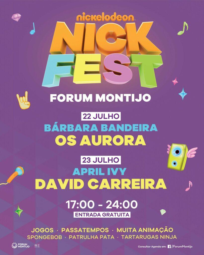 Nick Fest   1º Festival Teen do país no Forum Montijo