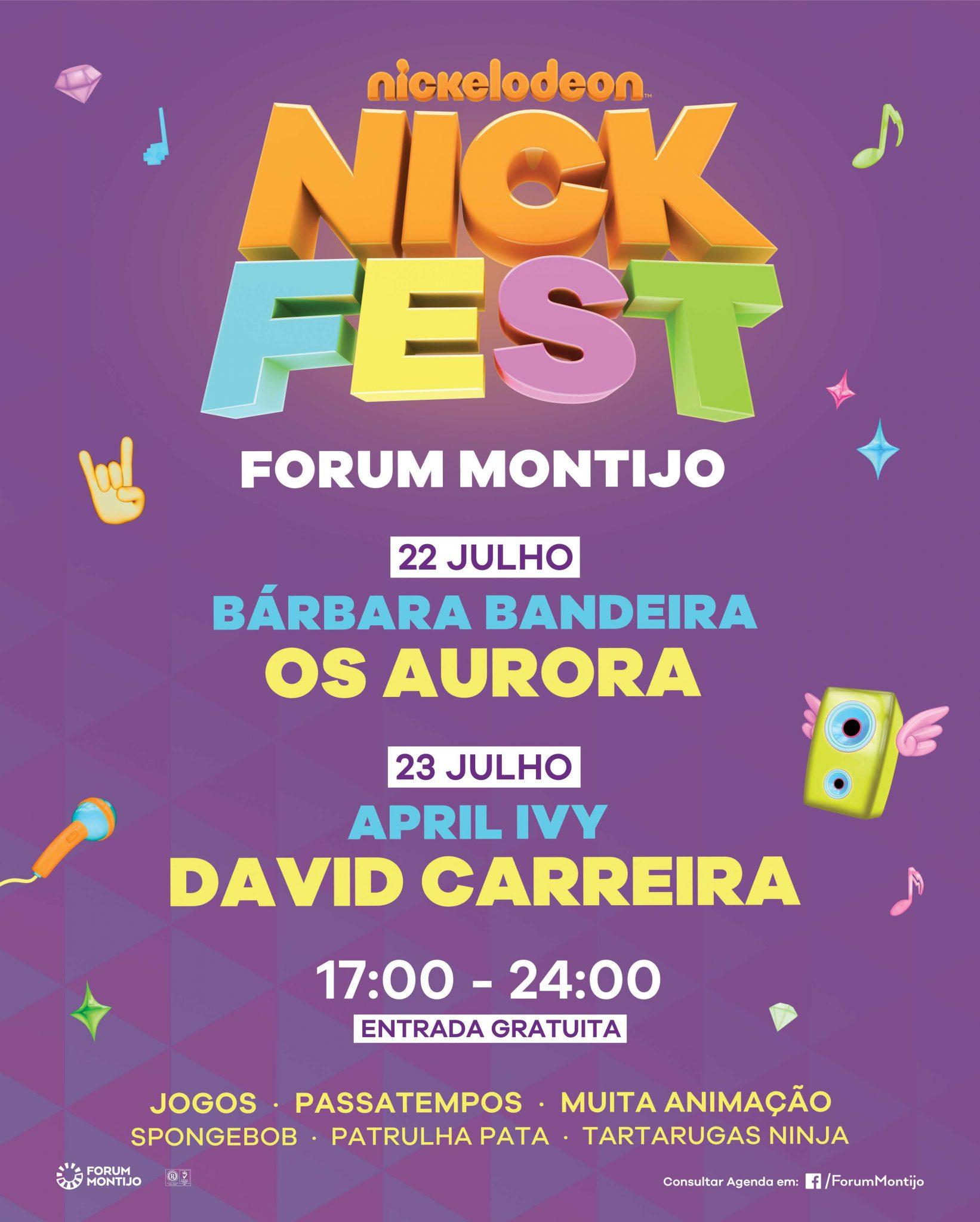 Nick Fest | 1º Festival Teen do país no Forum Montijo