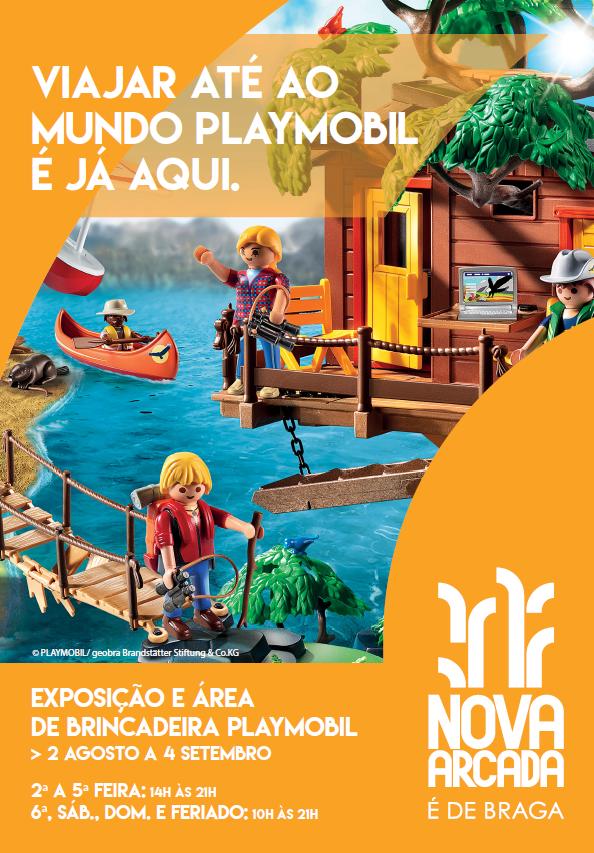 Mundo Playmobil no Nova Arcada