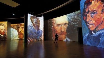 Van Gogh Alive, The Experience na Cordoaria Nacional 1