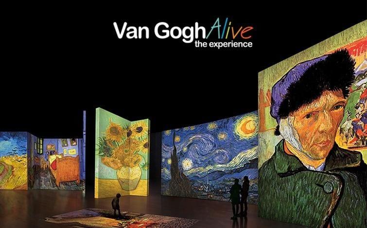 Van Gogh Alive, The Experience na Cordoaria Nacional