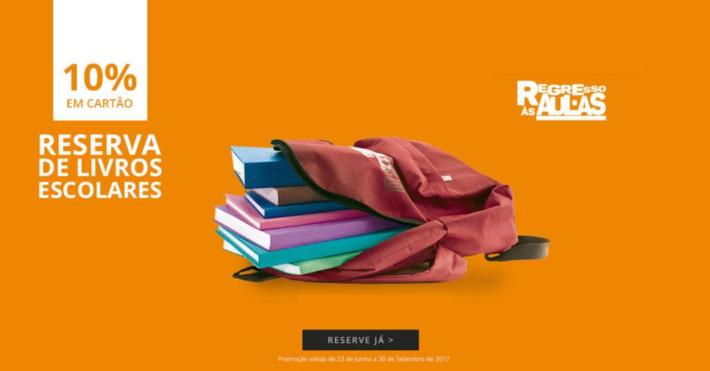 Campanha de Reserva de Livros Escolares El Corte Inglés