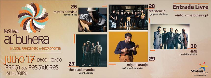 FESTIVAL AL-BUHERA em Albufeira 2017