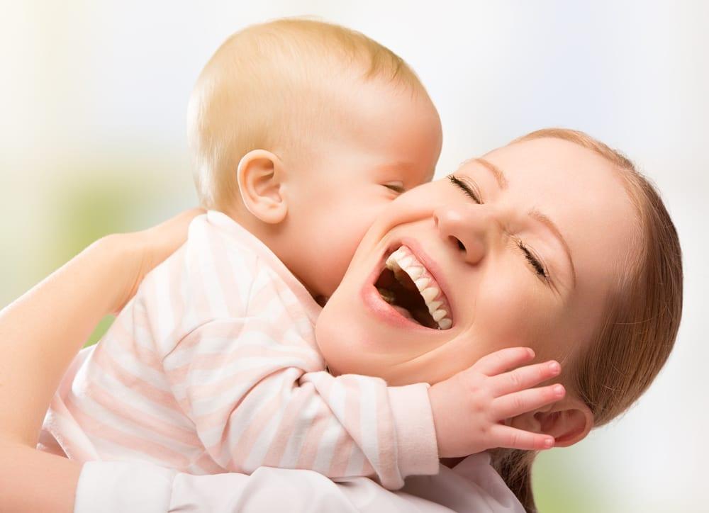Manhãs calmas com bebés