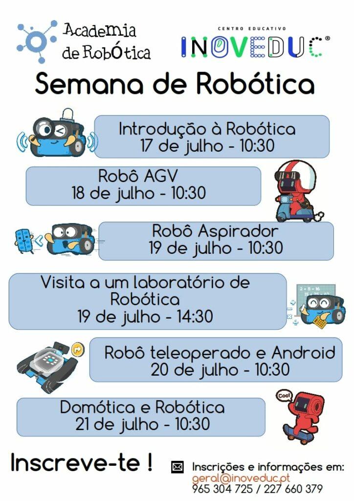 Semana de Robótica no INOVEDUC