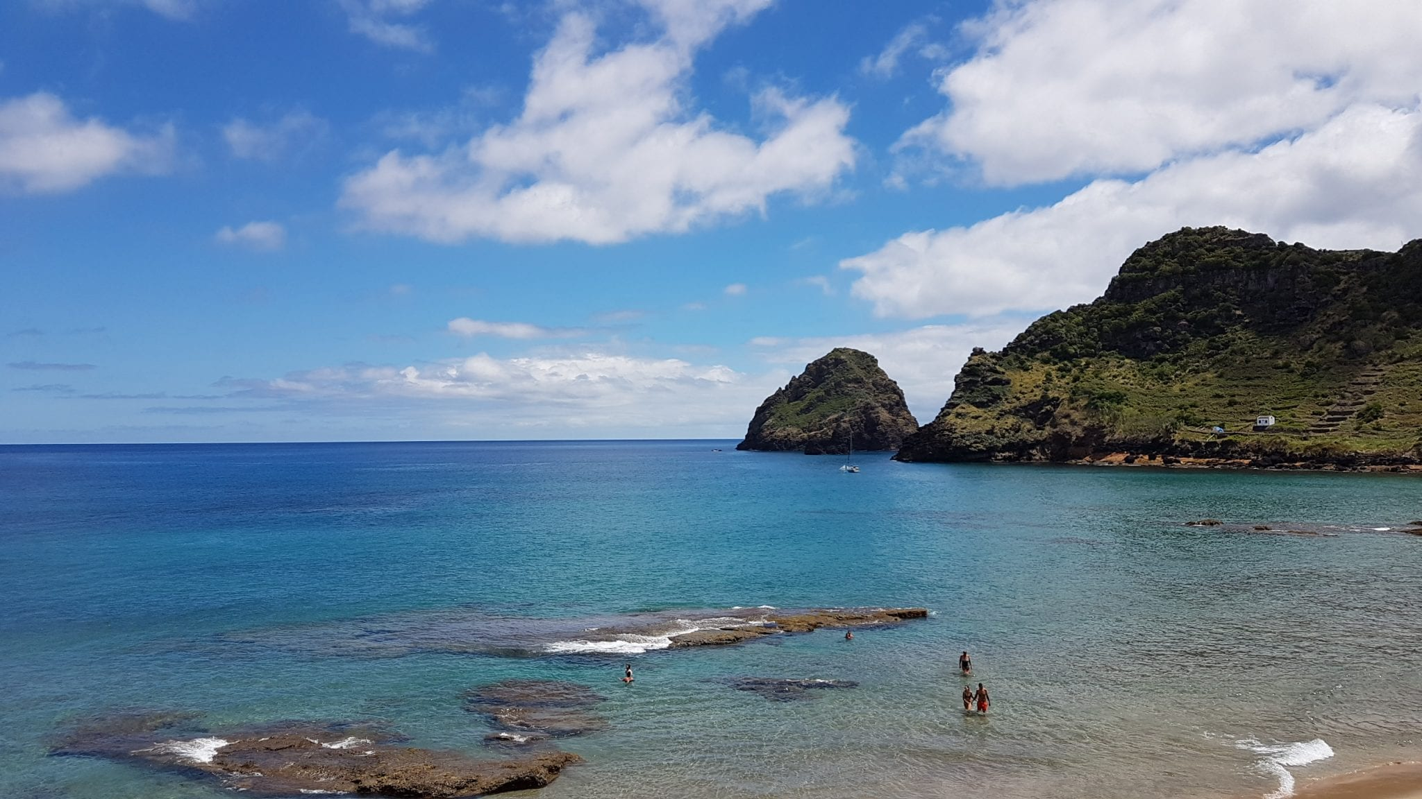 Ilha de São Miguel com crianças Açores