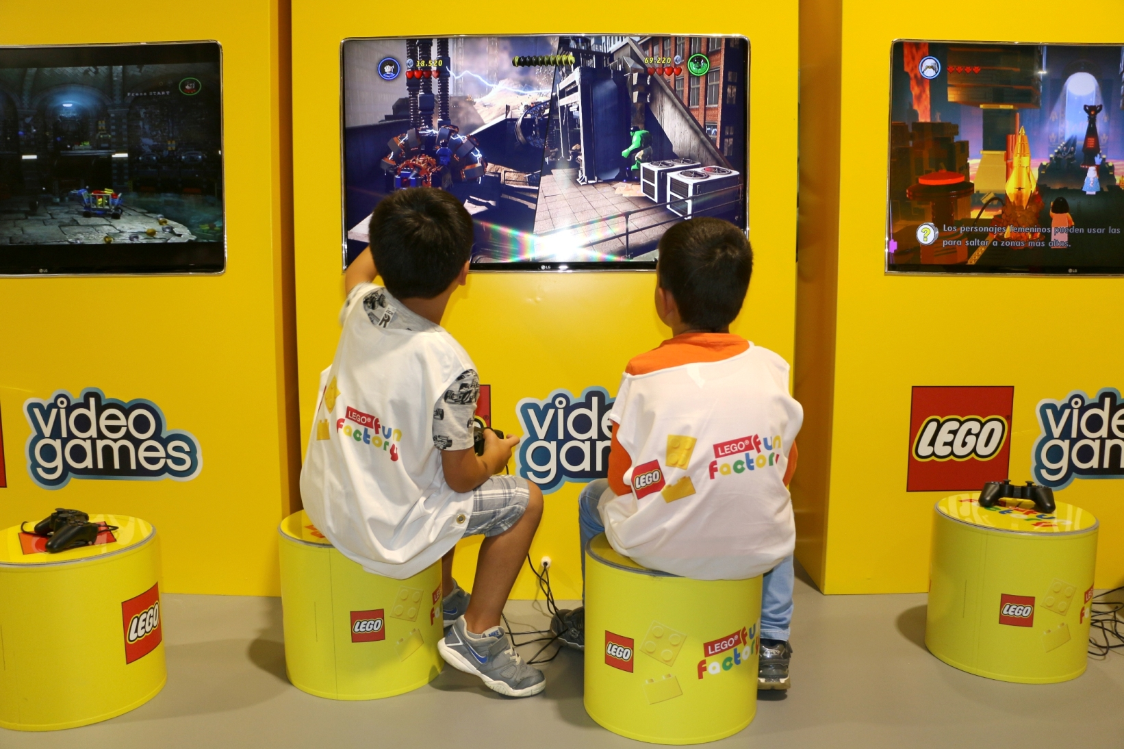 LEGO Fun Factory transforma-se em Ninjago